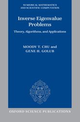Inverse Eigenvalue ProblemsTheory, Algorithms, and Applications